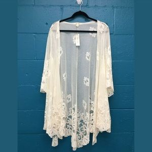 Miami lace shawl wrap